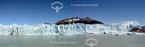 Assunto: Vista geral do Glaciar Perito Moreno (Geleira Perito Moreno) / Local: Província de Santa Cruz - Argentina - América do Sul  / Data: 01/2012
