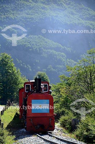 Assunto: Passeio turístico no Trem do Fim do Mundo / Local: Ushuaia - Província Terra do Fogo - Argentina - América do Sul / Data: 01/2012