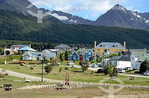 Assunto: Casas na cidade de Ushuaia / Local: Ushuaia - Província Terra do Fogo - Argentina - América do Sul / Data: 01/2012