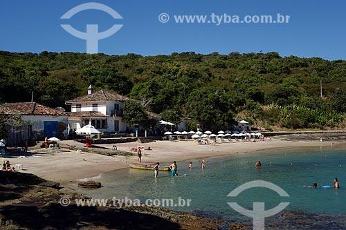 Assunto: Banhistas na Praia da Azeda / Local: Armação dos Búzios - Rio de Janeiro (RJ) - Brasil / Data: 05/2013