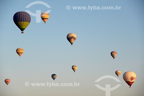 Assunto: Passeio turístico de balão no Vale do Göreme / Local: Göreme - Turquia - Ásia / Data: 08/2013