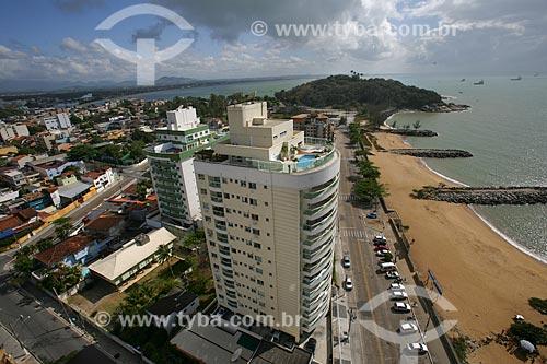 Vista da Praia de Imbitiba  - Macaé - Rio de Janeiro - Brasil