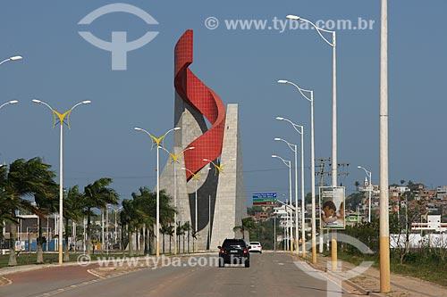 Monumento Chama do Petróleo  - Macaé - Rio de Janeiro - Brasil