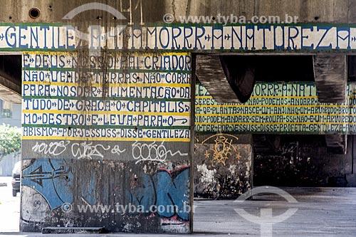 Assunto: Inscrições de José Datrino - mais conhecido como Profeta Gentileza / Local: Rio de Janeiro (RJ) - Brasil / Data: 11/2013
