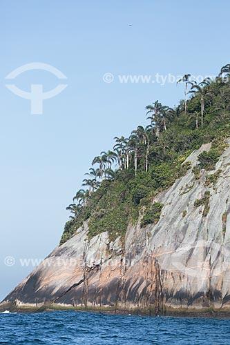 Assunto: Trecho da Ilha Redonda - parte do Monumento Natural das Ilhas Cagarras / Local: Rio de Janeiro (RJ) - Brasil / Data: 11/2013