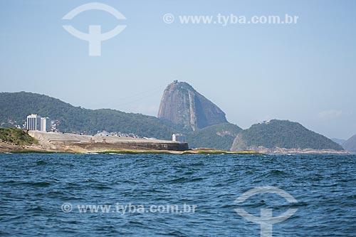 Assunto: Antigo Forte de Copacabana (1914-1987) - atual Museu Histórico do Exército - com o Pão de Açúcar ao fundo / Local: Copacabana - Rio de Janeiro (RJ) - Brasil / Data: 11/2013