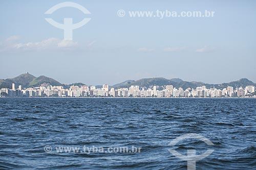 Assunto: Praia de Icaraí vista a partir da Baía de Guanabara / Local: Niterói - Rio de Janeiro (RJ) - Brasil / Data: 11/2013
