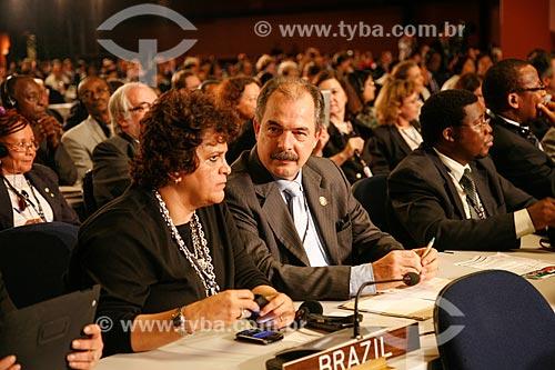 Ministro Aloísio Mercadante e Ministra Izabella Teixeira na Conferência das Nações Unidas sobre Desenvolvimento Sustentável (Rio + 20)  - Rio de Janeiro - Rio de Janeiro - Brasil