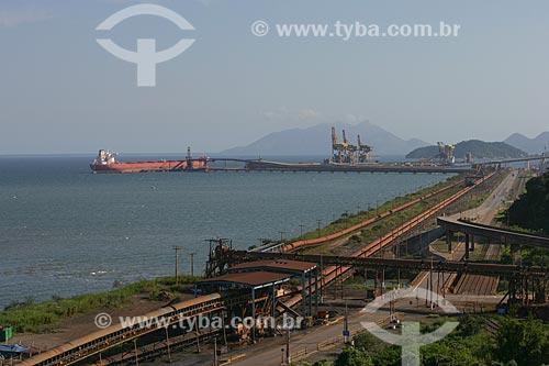 Vista do Porto de Itaguaí  - Rio de Janeiro - Rio de Janeiro - Brasil