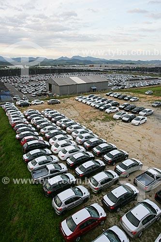 Pátio da fábrica da PSA Peugeot Citroën  - Porto Real - Rio de Janeiro - Brasil