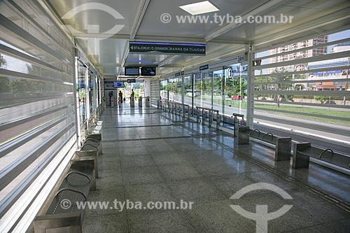 Estação Novo Leblon - Bus Rapid Transit  - Rio de Janeiro - Rio de Janeiro - Brasil