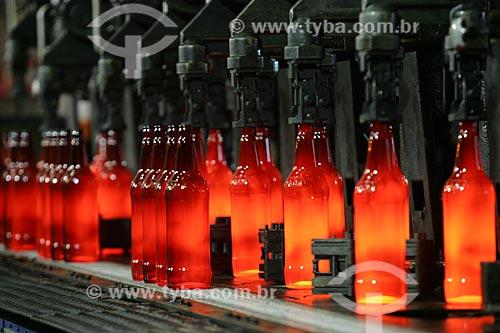 Fábrica de garrafa de vidro da Ambev  - Rio de Janeiro - Rio de Janeiro - Brasil
