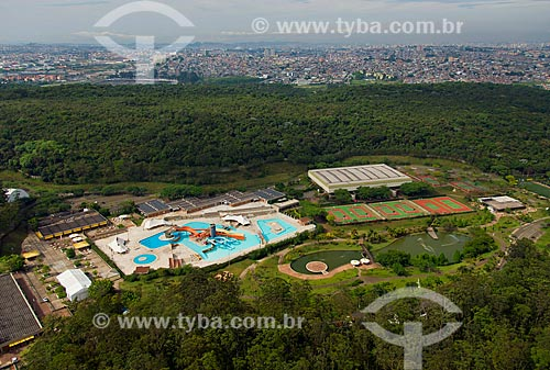 Assunto: Vista aérea do SESC Itaquera no Parque do Carmo / Local: Itaquera - São Paulo (SP) - Brasil / Data: 10/2013