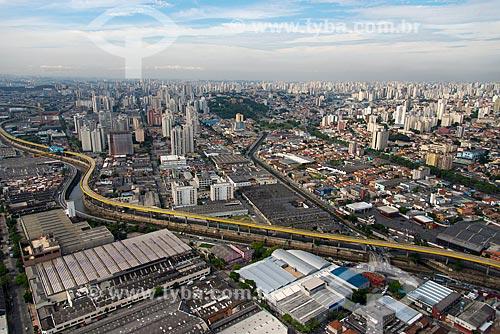 Assunto: Vista aérea do Expresso Tiradentes - antigo Fura-Fila na Avenida do Estado / Local: Ipiranga - São Paulo (SP) - Brasil / Data: 10/2013