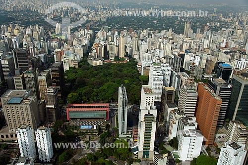 Assunto: Vista aérea do Museu de Arte de São Paulo (MASP) / Local: Centro - São Paulo (SP) - Brasil / Data: 10/2013