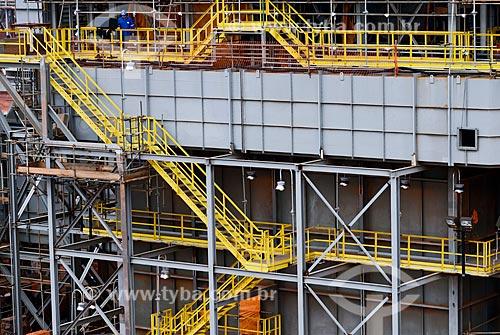 Assunto: Forno Reformador na obra de construção da Unidade de Fertilizantes Nitrogenados da PETROBRAS / Local: Três Lagoas - Mato Grosso do Sul (MS) - Brasil / Data: 09/2013