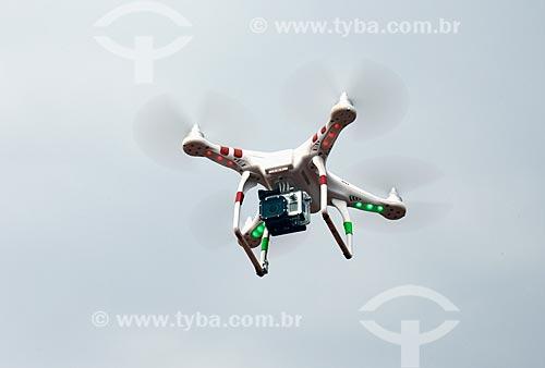 Assunto: Drone com câmera / Local: Três Lagoas - Mato Grosso do Sul (MS) - Brasil / Data: 09/2013