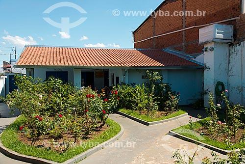 Assunto: Jardim do Grupo Espírita da Prece de Chico Xavier - local onde o médium atendia / Local: Uberaba - Minas Gerais (MG) - Brasil / Data: 10/2013