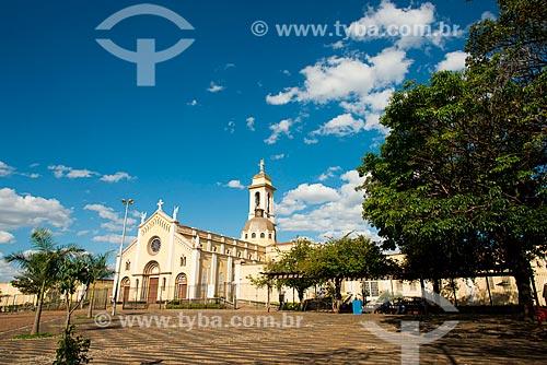 Assunto: Igreja Nossa Senhora da Abadia fundada em 1884 - padroeira da cidade / Local: Uberaba - Minas Gerais (MG) - Brasil / Data: 10/0213