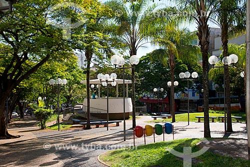 Assunto: Praça Rui Barbosa no centro da cidade / Local: Uberaba - Minas Gerais (MG) - Brasil / Data: 10/2013