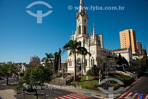Assunto: Catedral Metropolitana do Sagrado Coração de Jesus / Local: Uberaba - Minas Gerais (MG) - Brasil / Data: 10/2013
