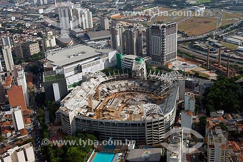 Assunto: Vista aérea do Allianz Parque - também conhecido como Arena Palmeiras / Local: São Paulo (SP) - Brasil / Data: 05/2013