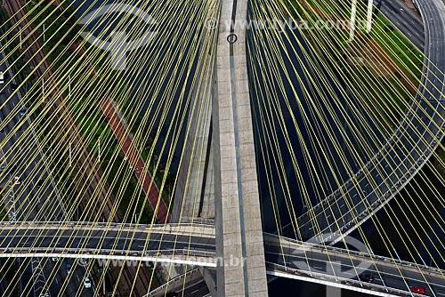 Assunto: Ponte Estaiada Octávio Frias de Oliveira / Local: São Paulo (SP) - Brasil / Data: 06/2013
