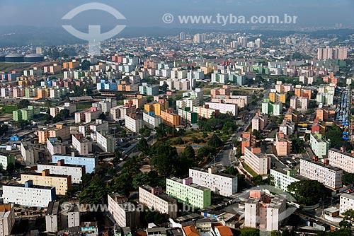 Assunto: Vista aérea do Conjunto Habitacional COHAB de Artur Alvim - Nas proximidades do estádio Arena Corinthians / Local: São Paulo (SP) - Brasil / Data: 06/2013