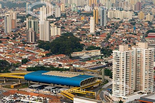 Assunto: Vista aérea do Terminal Sacomã do Expresso Tiradentes - antigo Fura-Fila  / Local: Ipiranga - São Paulo (SP) - Brasil / Data: 05/2013