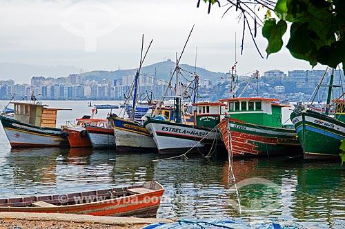 Assunto: Pequena colônia de pescadores conhecida com Portugal Pequeno / Local: Ponta Dareia - Niterói - Rio de Janeiro (RJ) - Brasil / Data: 09/2013