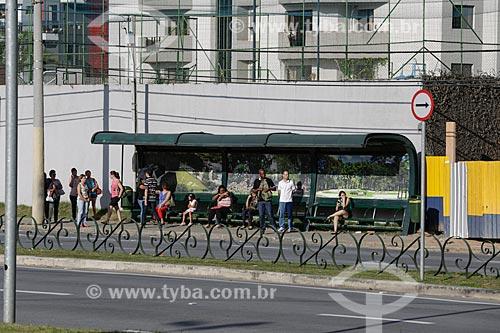 Ponto de ônibus   - São José dos Campos - São Paulo - Brasil
