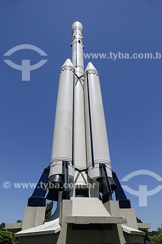 Veículo Lançador de Satélites VLS - Memorial Aeroespacial Brasileiro - MAB   - São José dos Campos - São Paulo - Brasil