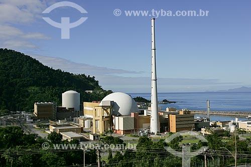 Usinas Nucleares Angra 1 e Angra 2  - Central Nuclear Almirante Álvaro Alberto  - Angra dos Reis - Rio de Janeiro - Brasil