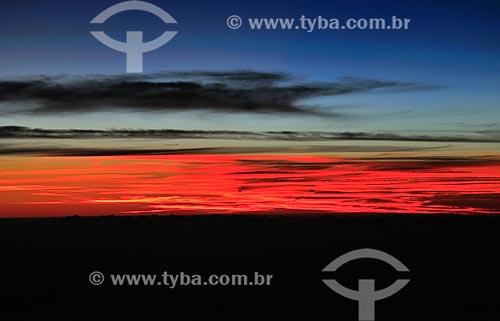 Assunto: Vista aérea do Oceano Atlantico entre o Brasil e África / Local: Brasil - América do Sul / Data: 06/2013