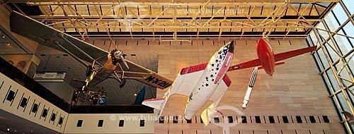 Assunto: Museu do Ar e Espaço do Instituto Smithsoniano - possui a maior coleção de aeronaves e naves espaciais de todo o mundo / Local: Washigton DC - Estados Unidos da América (EUA)- América do Norte / Data: 08/2013