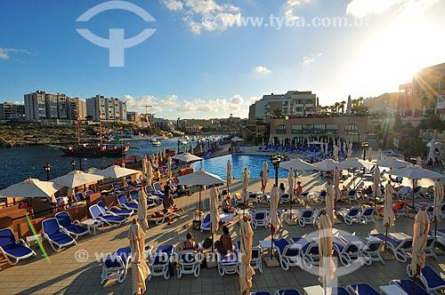 Assunto: Vista Corinthia Hotel St Georges Bay / Local: República de Malta - Europa / Data: 09/2013