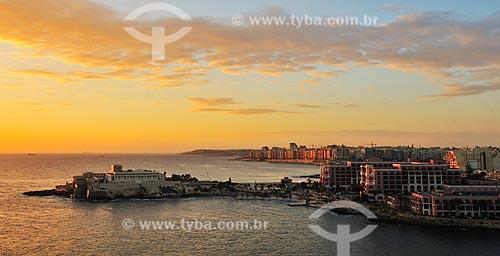 Assunto: Vista panorâmica de Malta / Local: República de Malta - Europa / Data: 09/2013