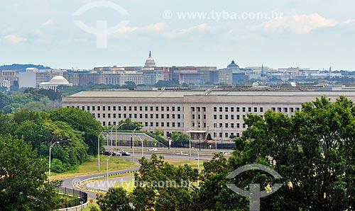 Assunto: Departamento de Defesa dos Estados Unidos da América  visto do Memorial da Força AéreaUnited States Department of Defense / Local: Virgínia - Estados Unidos da América (EUA)- América do Norte / Data: 09/2013
