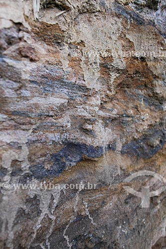 Assunto: Formação geológica gerada pelo acúmulo de sedimentos próximo ao Rio Bananal / Local: Bananal - São Paulo (SP) - Brasil / Data: 11/2013