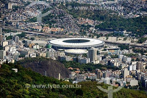 Assunto: Vista do Estádio Jornalista Mário Filho (1950) - Maracanã - e do Ginásio Gilberto Cardoso (1954) - também conhecido como Maracanãzinho / Local: Maracanã - Rio de Janeiro (RJ) - Brasil / Data: 11/2013