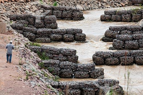 Assunto: Sistema de Transposição de Peixes (STP)- Programa de Responsabilidade Socioambiental da Usina Hidrelétrica Santo Antônio, Consórcio Santo Antônio Civil (CSAC) / Local: Porto Velho - Rondônia (RO) - Brasil / Data: 11/2013