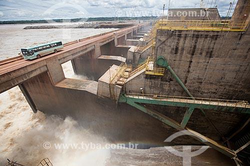 Assunto: Vertedouro da Usina Hidrelétrica Santo Antônio - Consórcio Santo Antônio Civil (CSAC) / Local: Porto Velho - Rondônia (RO) - Brasil / Data: 11/2013