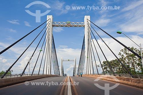 Assunto: Ponte Sérgio Motta sobre o Rio Cuiabá liga a capital à cidade Varza Grande / Local: Cuiabá - Mato Grosso (MT) - Brasil / Data: 10/2013