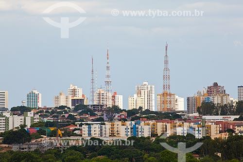Assunto: Vista da cidade de Cuiabá / Local: Cuiabá - Mato Grosso (MT) - Brasil / Data: 10/2013