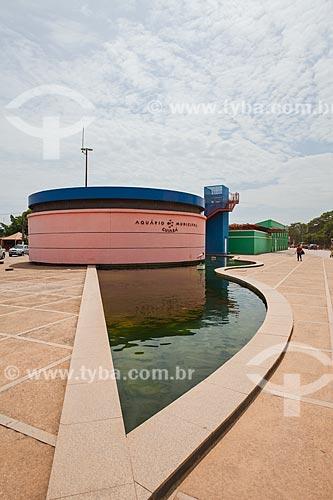 Assunto: Vista do Aquário Municipal de Cuiabá / Local: Porto - Cuiabá - Mato Grosso (MT) - Brasil / Data: 10/2013