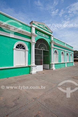 Assunto: Museu do Rio Cuiabá Hid Alfredo Scaff - instalado no antigo Mercado Público foi construído em 1889 e restaurado em 1999 / Local: Porto - Cuiabá - Mato Grosso (MT) - Brasil / Data: 10/2013