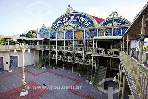 Assunto: Fachada do Teatro José de Alencar / Local: Fortaleza - Ceará (CE) - Brasil / Data: 11/2013
