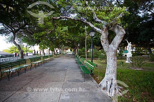 Assunto: Praça dos Mártires (1890) - também conhecida como Passeio Público / Local: Fortaleza - Ceará (CE) - Brasil / Data: 11/2013