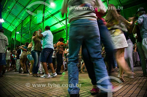 Assunto: Baile de forró no Mercado dos Pinhões no centro da cidade - evento gratuito e dominical / Local: Fortaleza - Ceará (CE) - Brasil / Data: 11/2013