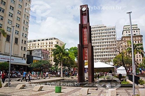 Assunto: Praça do Ferreira no centro da cidade / Local: Fortaleza - Ceará (CE) - Brasil / Data: 11/2013